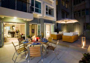 luxury service apartment hong kong